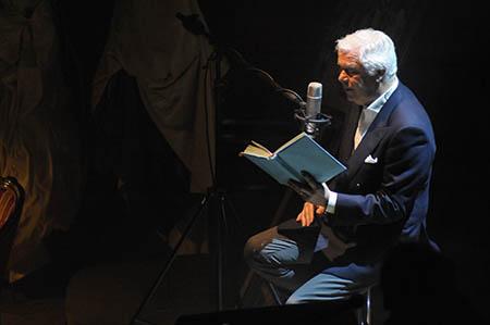 Cesare Cadeo sul palco