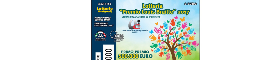 Lotteria Louis Braille