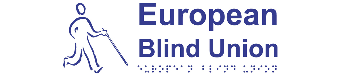 Il logo dell'European Blind Union.
